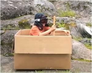 adventures of a cardboard box