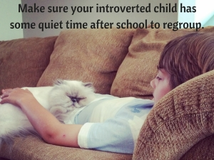 Make sure 2 your introverted child has some